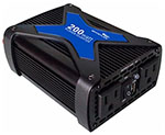 """Whistler PRO-200W Brand New Includes Two Year Warranty, The Whistler PRO-200W is a 200 watts power inverter with USB Port"